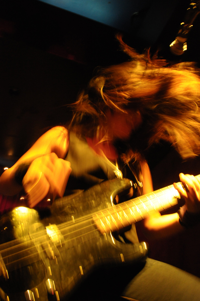 The Binges - Guitarist: Mayuko Okai  - Sunset Music Festival