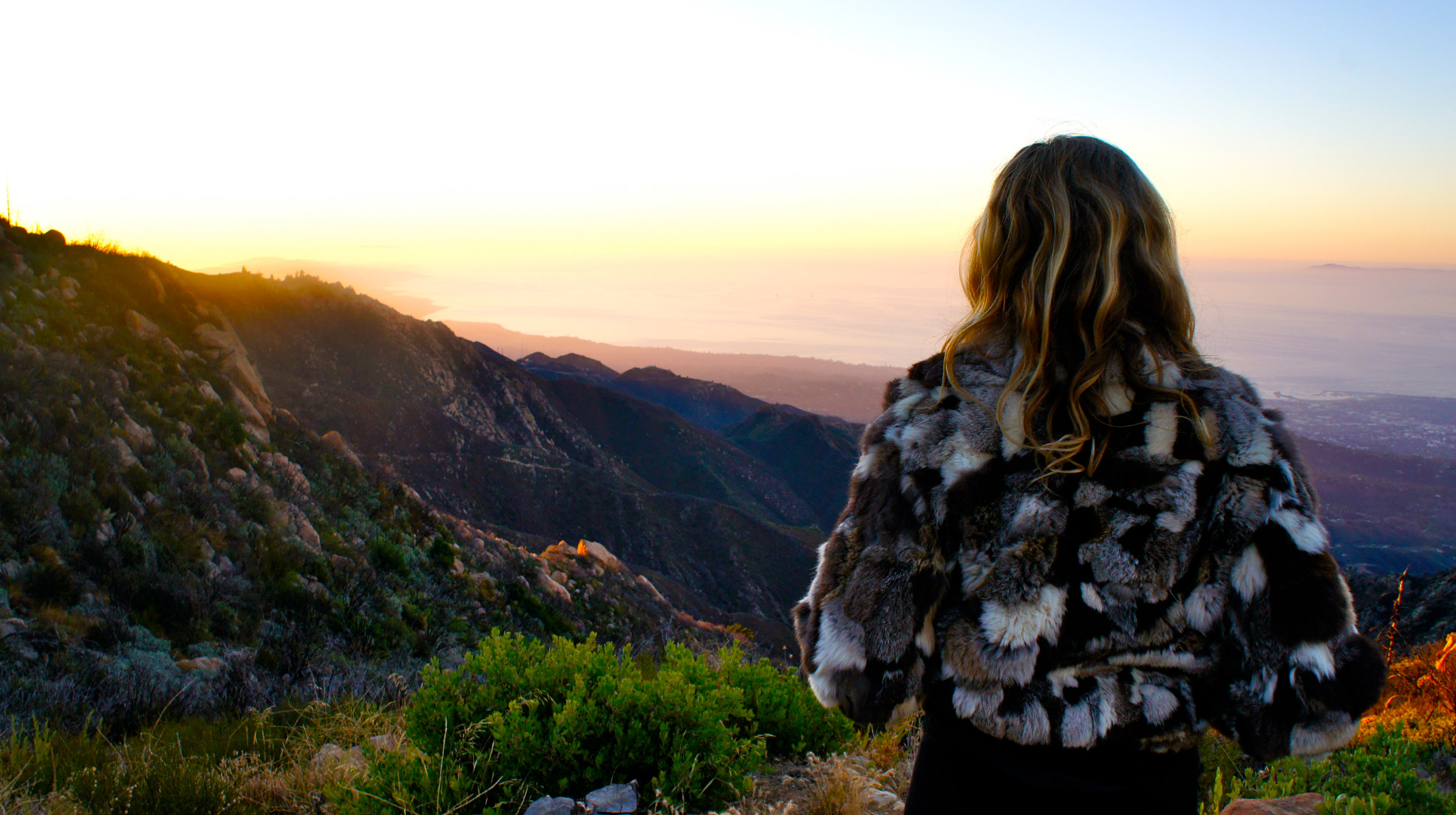 To-look-out-and-hope - Santa Barbara Mountains